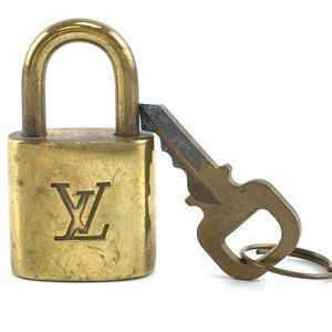 Louis Vuitton Gold Keepall Speedy Lock Key Set#315